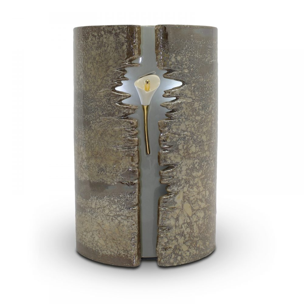 Designer-Urne mit LED-Beleuchtung