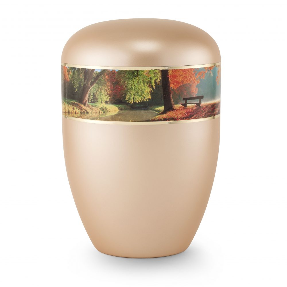 Naturstoff-Urne