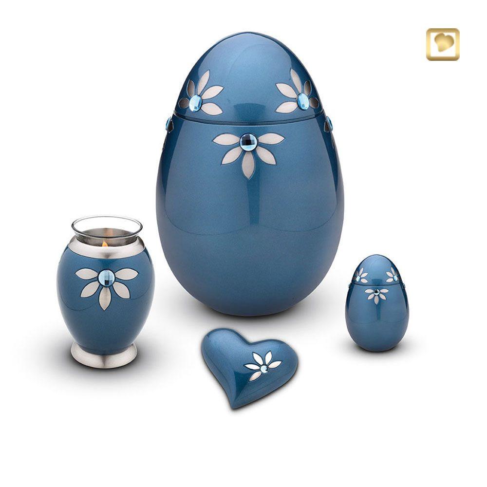 Urne mit Swarovski-Steinen
